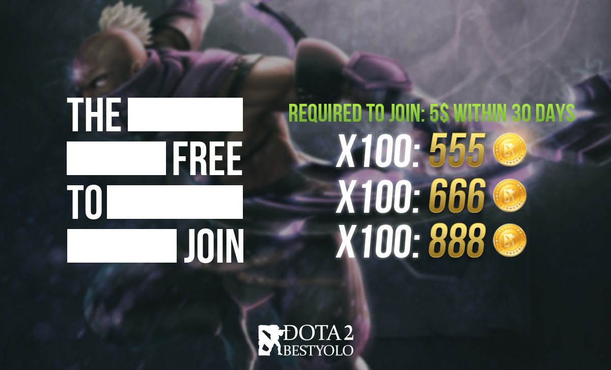 FREE TO JOIN DAILY ROLL DOTA2BESTYOLO