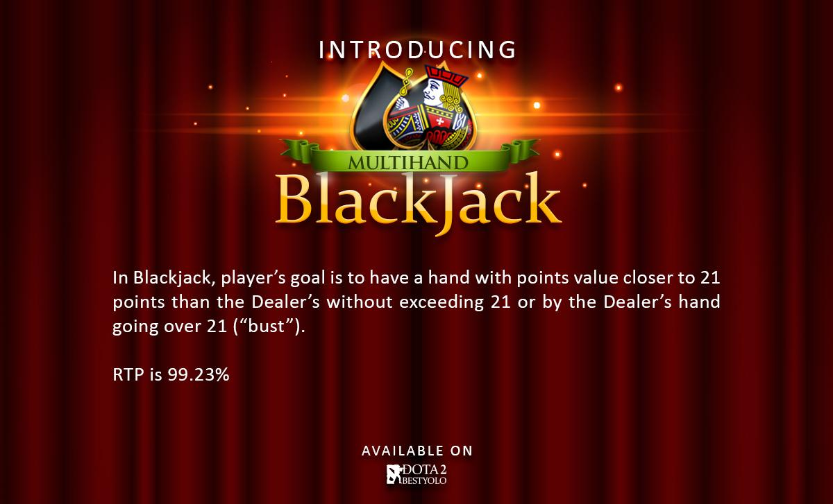 Multihand BlackjackD2BY